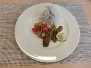 秋刀魚の香草焼き