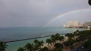 2018ホノルル虹
